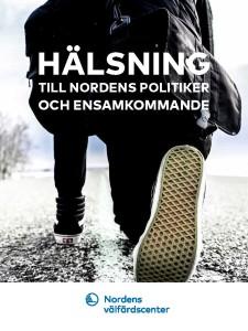 Hälsning till Nordens politiker och ensamkommande - framsida